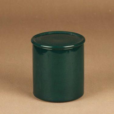 Arabia Kilta jar green designer Kaj Franck