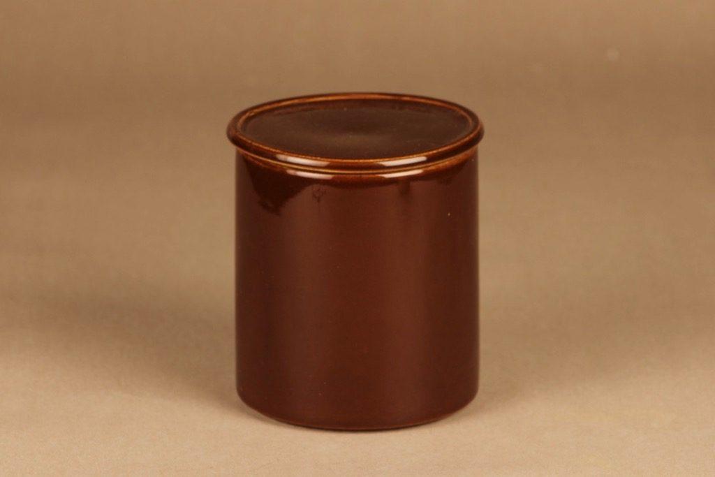 Arabia Kilta jar brown designer Kaj Franck