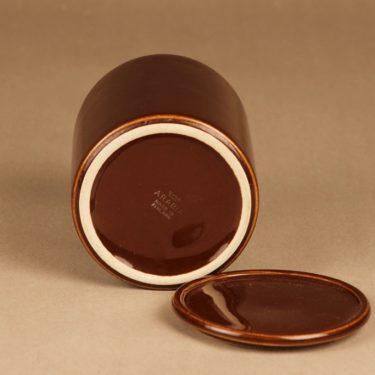 Arabia Kilta jar brown designer Kaj Franck 2