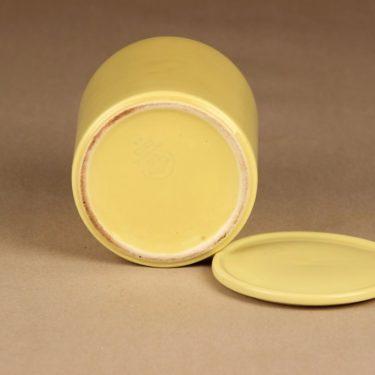 Arabia Kilta jar yellow designer Kaj Franck 2