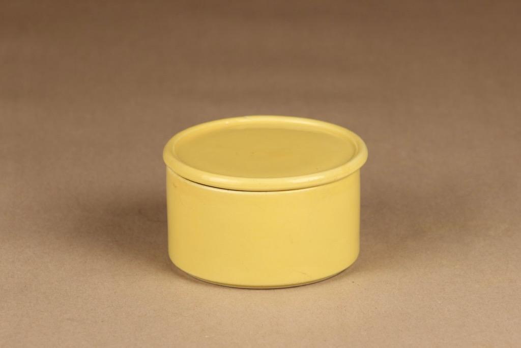 Arabia Kilta jar yellow designer Kaj Franck