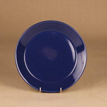Arabia Kilta plate, blue designer Kaj Franck