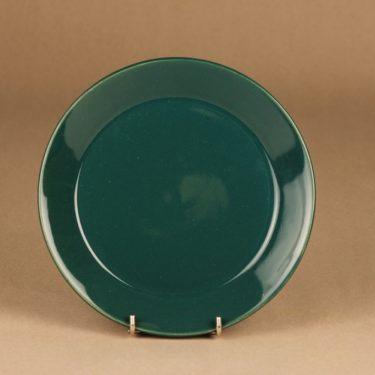 Arabia Kilta plate, green designer Kaj Franck