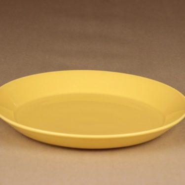 Arabia Teema lautanen keltainen suunnittelija Kaj Franck 2