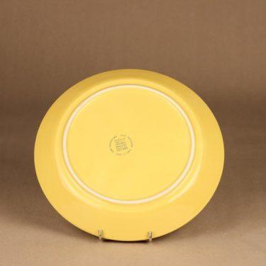 Arabia Teema lautanen keltainen suunnittelija Kaj Franck 3