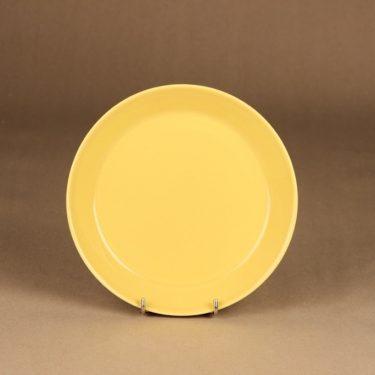 Arabia Teema plate, yellow designer Kaj Franck