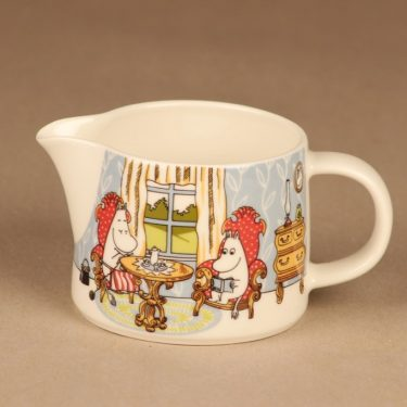 Arabia Moomin pitcher Afternoon in Parlor designer Tove Slotte-Elevant