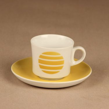 Arabia  coffee cup, blow decorative