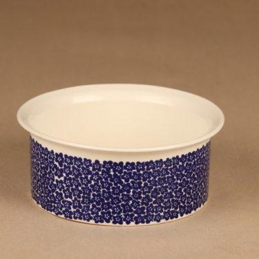 Arabia Faenza bowl blue designer Inkeri Seppälä