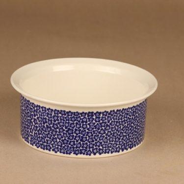 Arabia Faenza bowl, blue designer Inkeri Seppälä