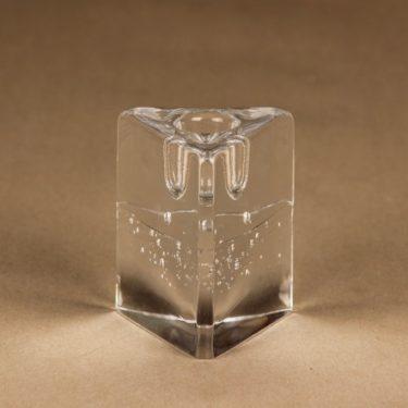 Iittala Arkipelago kynttilänjalka, kirkas, suunnittelija Timo Sarpaneva,