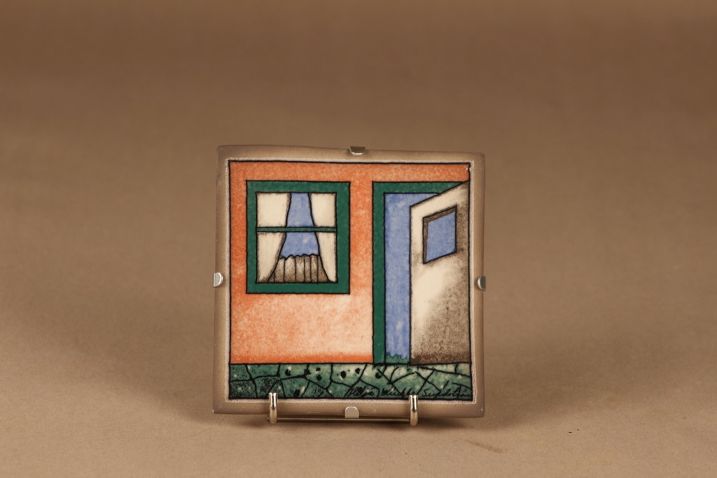 Arabia HLS wall plate limited edition designer Heljä Liukko-Sundström