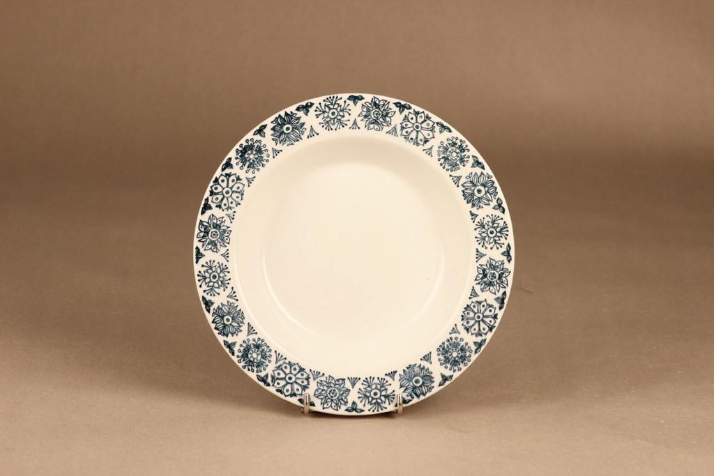 Arabia Kekri soup plate designer Raija Uosikkinen