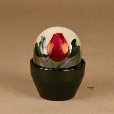 Arabia   Ikikukka, punainen tulppaani, suunnittelija Heljä Liukko-Sundström, punainen tulppaani