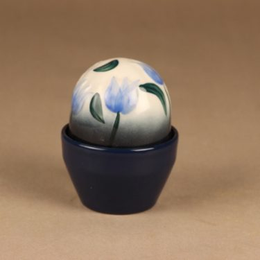 Arabia  Evergreen flower Blue Bellflower designer Heljä Liukko-Sundström