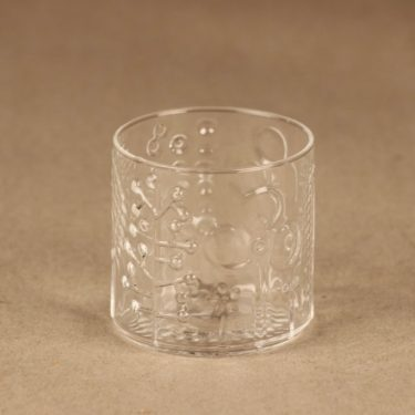 Nuutajärvi Flora schnapps glass 6 cl designer Oiva Toikka