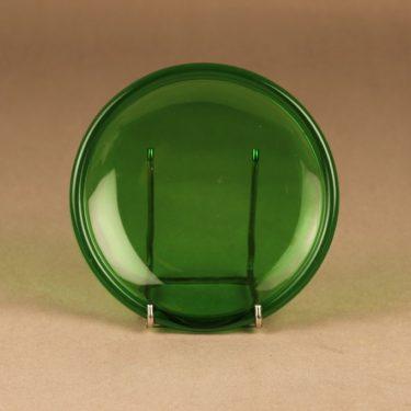 Iittala Luna lautanen, vihreä, suunnittelija Kaj Franck,