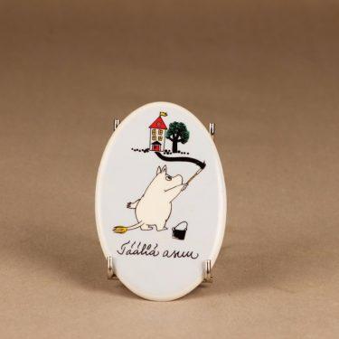 Arabia Moomin door sign blue designer Tove Slotte-Elevant