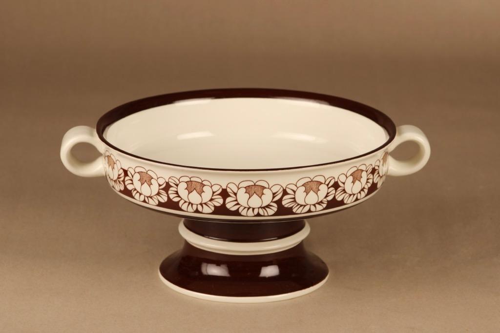 Arabia Katrilli bowl with feet designer Esteri Tomula