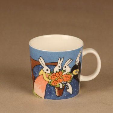 Arabia Teema Bunny mug Mother Rabbit designer Heljä Liukko-Sundström