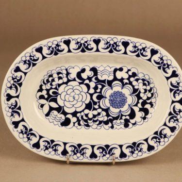 Arabia EG serving plate, blue designer Esteri Tomula