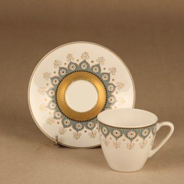 Arabia Kalinka kahvikuppi ja lautaset(2), suunnittelija Hilkka-Liisa Ahola,  kuva 2
