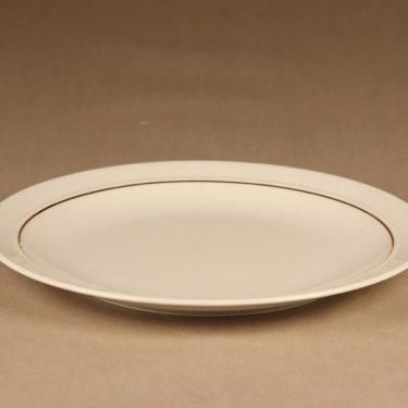 Arabia Harlekin Gold dinner plate designer Inkeri Leivo