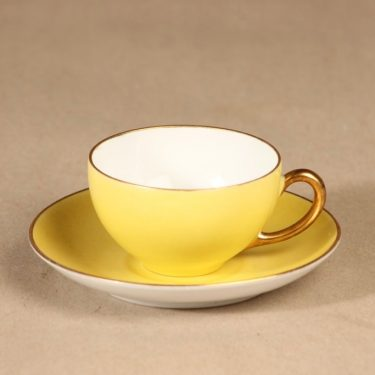 Arabia mocca cup light yellow