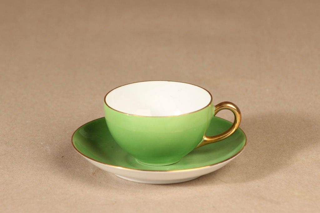 Arabia mocca cup, light green