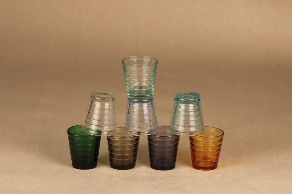 Iittala Bölgeblick schnapps glass 5 cl, 8 pcs designer Aino Aalto