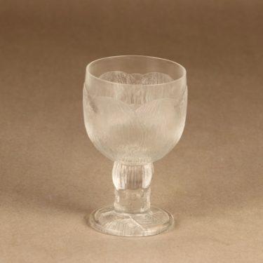 Nuutajärvi Pioni wine glass 20 cl designer Oiva Toikka
