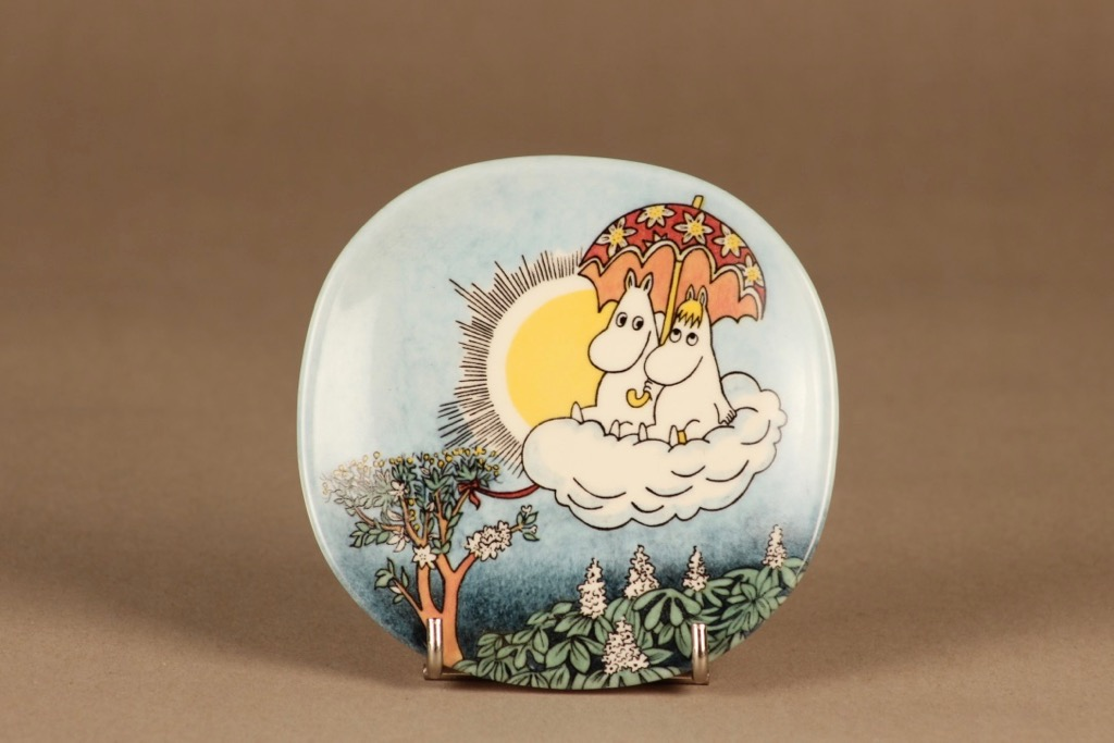 Arabia Moomin wall plate Moomin On Air designer Tove Slotte