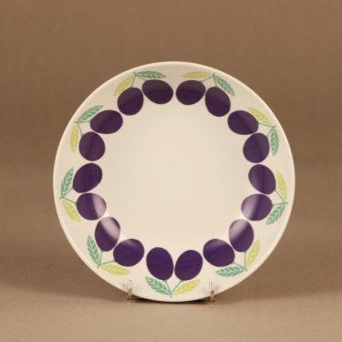 Arabia Pomona Luumu soup plate designer Raija Uosikkinen