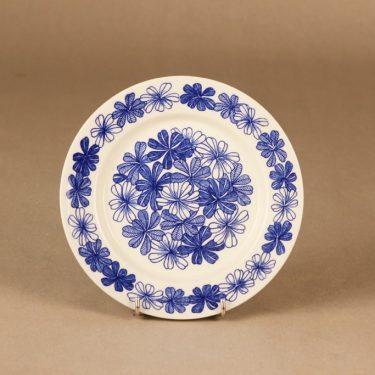 Arabia Sinikukka lautanen suunnittelija Esteri Tomula