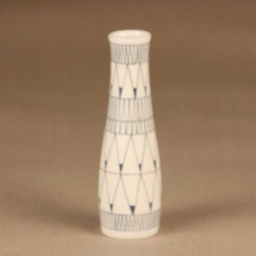 Arabia maljakko, käsinmaalattu, suunnittelija Esteri Tomula, käsinmaalattu