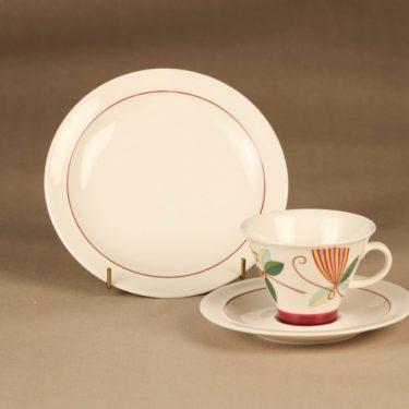 Arabia Harlekin Carneval coffee cup designer Inkeri Leivo