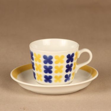 Arabia AA coffee cup, blow decorative designer unknown