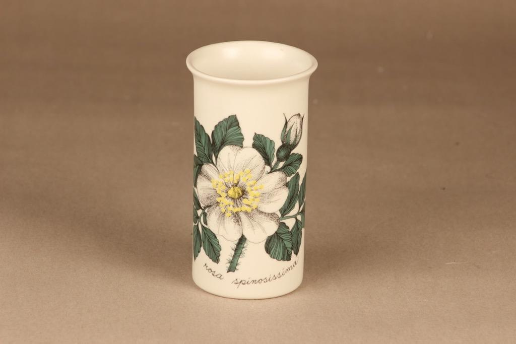 Arabia Rosa Spinosissima vase designer Esteri Tomula
