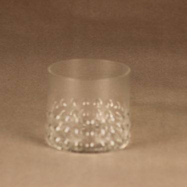 Riihimäen lasi 1843 juomalasi, kirkas, suunnittelija Nanny Still,