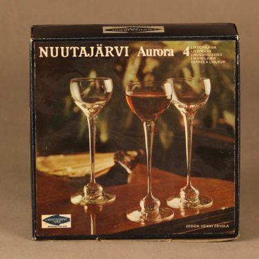 Nuutajärvi Aurora likööriilasi suunnittelija Heikki Orvola