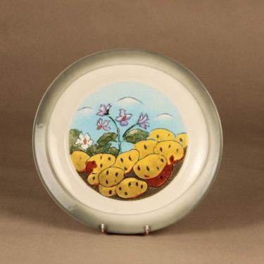 Arabia Tuuli plate Potato staple food designer Heljä Liukko-Sundström
