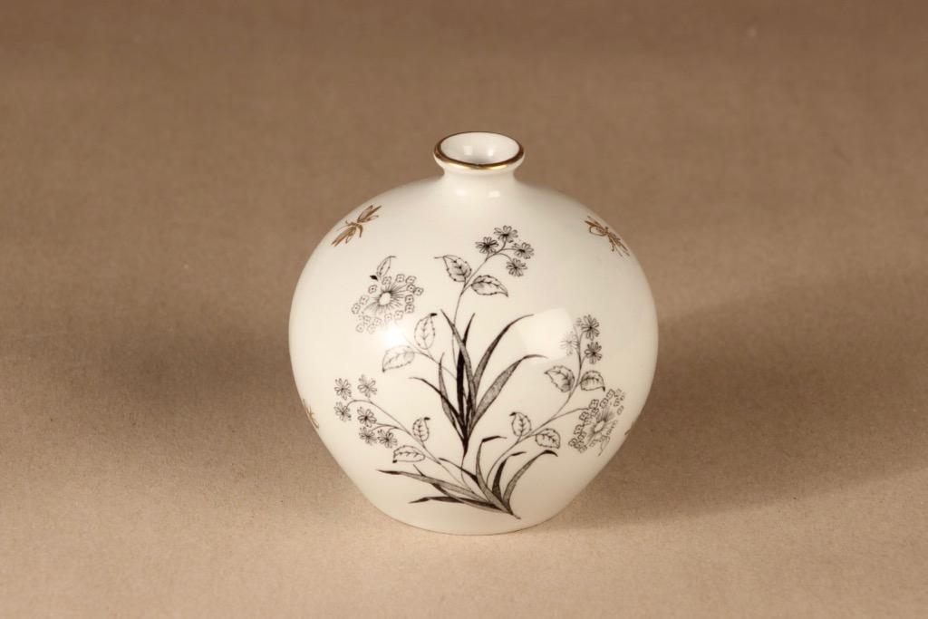 Arabia vase, hand-painted designer Esteri Tomula