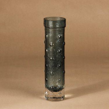 Riihimäen lasi 1462 maljakko, vihreä, kirkas, suunnittelija Tamara Aladin,