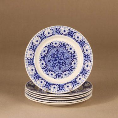 Arabia Ali plate 17 cm, 6 pcs designer Raija Uosikkinen