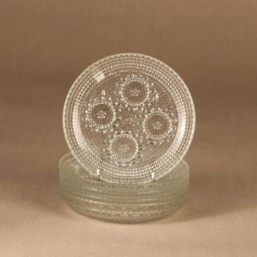 Riihimäen lasi Grapponia lautanen, 14.5 cm, 6 kpl, suunnittelija Nanny Still, 14.5 cm