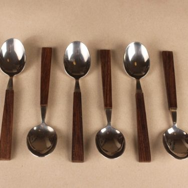 Hackman Lion de Luxe spoon, 6 pcs designer Bertel Gadberg