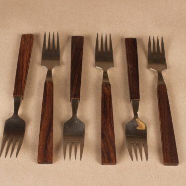 Hackman Lion de Luxe fork, 6 pcs designer Bertel Gardberg