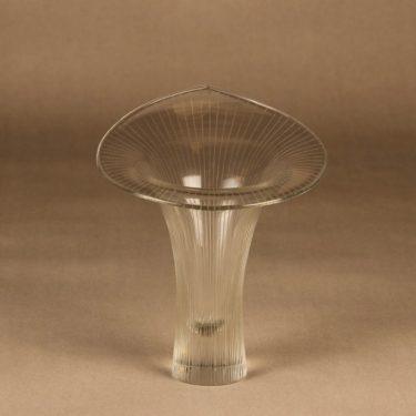 Iittala Kantarelli art glass, signed designer Tapio Wirkkala