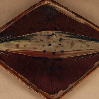 Arabia ceramics Wall plate Fish designer Brita Heilimo
