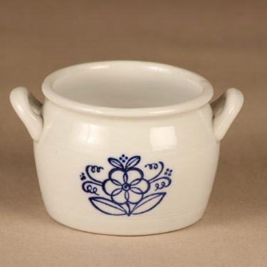 Arabia  bowl, cobalt blue decorative